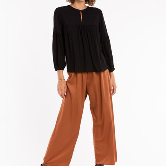 Mika | Relaxed Puff Sleeve Blouse