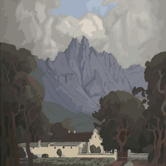 Pierneef Station Panel: Stellenbosch