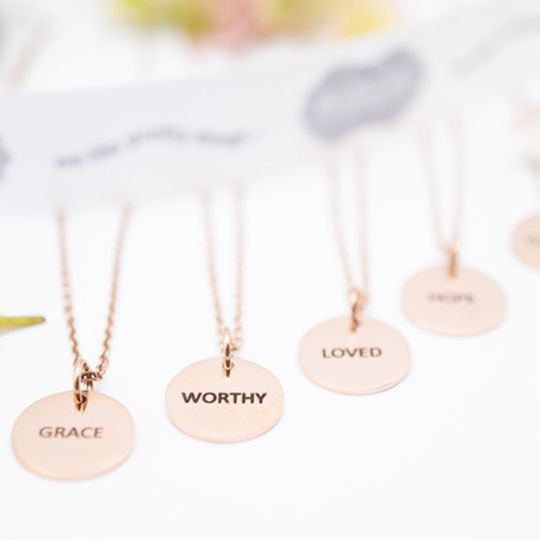 Rosegold Stainless Steel Necklace