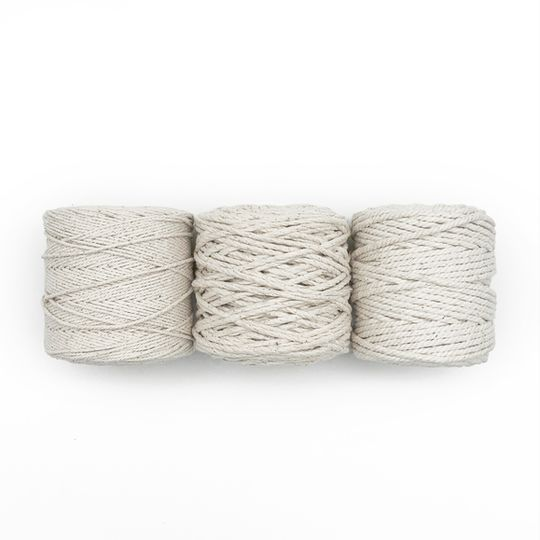 Natural Recycled Cotton Twine