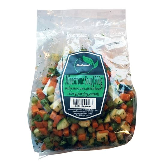 Fresh Minestrone Soup Mix  (500g)