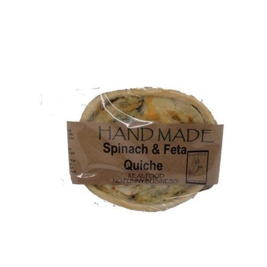 Quiche - Spinach And Feta