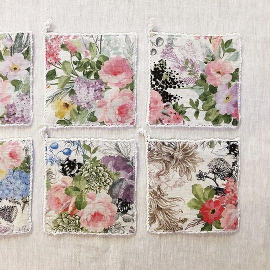 Oondlappie - Summer Floral Linen