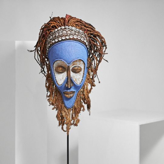 Blue Mask from The Congo