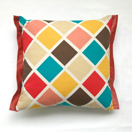 Geo Quad Cushion