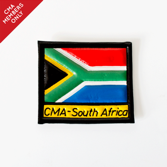 Adult SA Flag - Leather