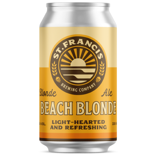 St. Francis Beach Blonde 330ml can