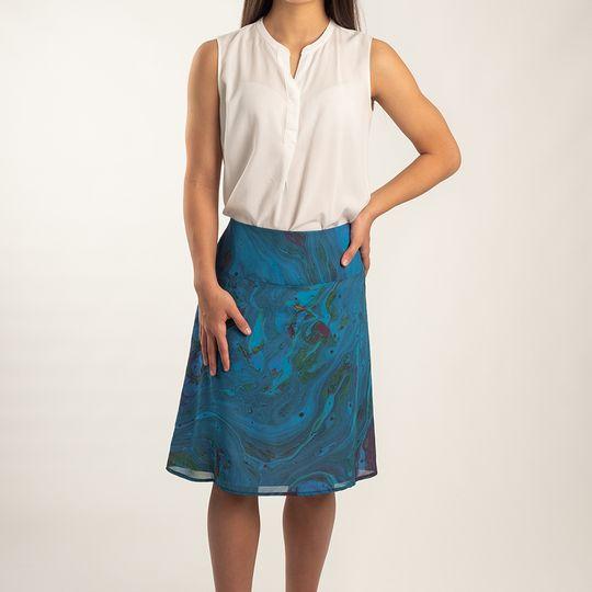 Skirt Cornflower