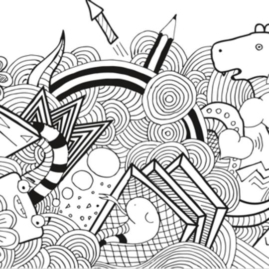 Wacky Wallpaper- Adult Doodlebug