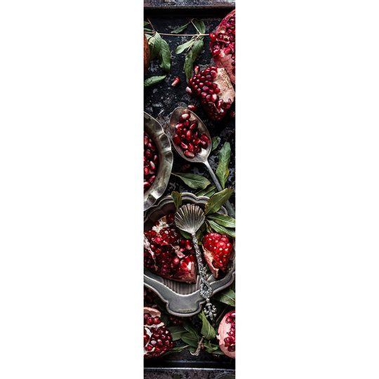 Runner - Pomegranates on Baking Tray