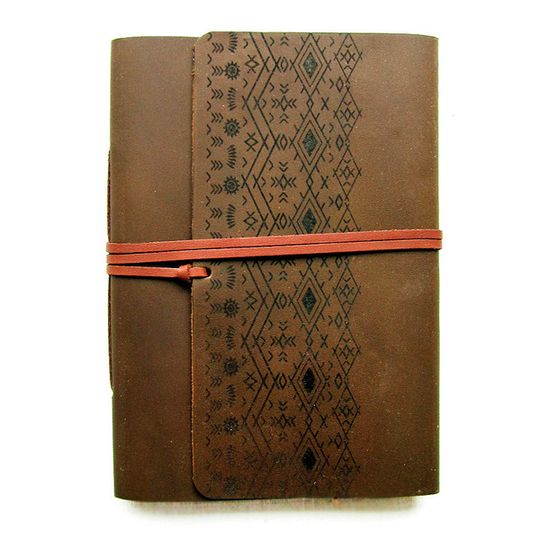 Travel Journal (A6 size) - Aztec