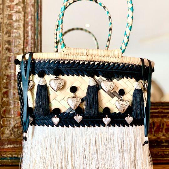 Gootchi Basket Tote Handbag/Love loves to love love