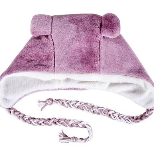 Winter Beanies / Girls - Pink Bear Beanie - M0294
