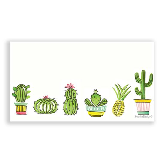 10 Little Letters - Succulents