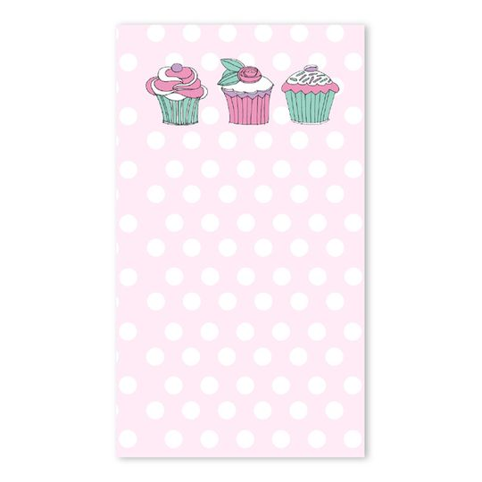 10 Little Letters - Cupcakes & Polka Dots (Portrait)