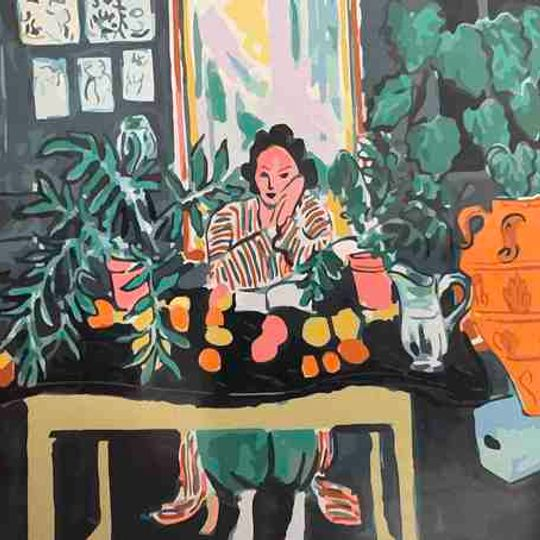 Matisse: Interior with Etruscan Vase