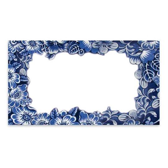 10 Little Letters - Blue flowers