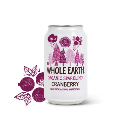Whole Earth Organic Cranberry Drink (330ml)