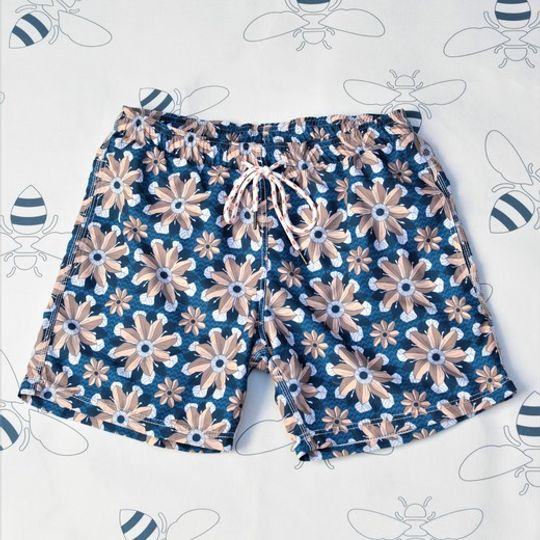 Flame Flower Shorts