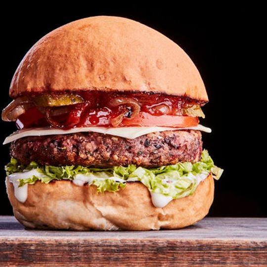 Meraki Vegan Burger