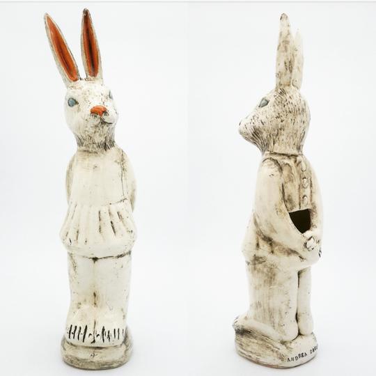A Rabbit Flower Vase