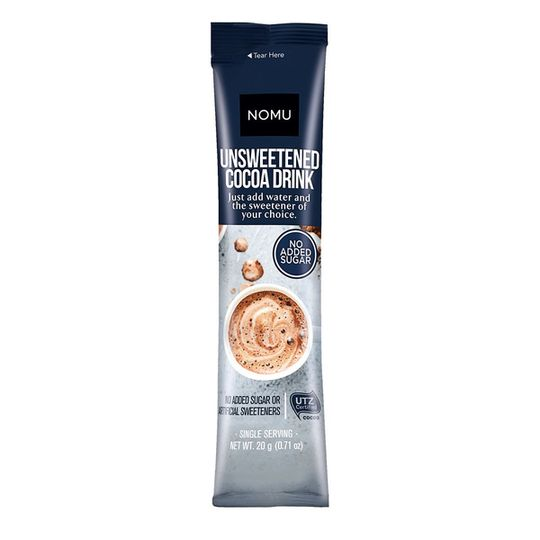 NOMU Unsweetened Hot Chocolate Sachet