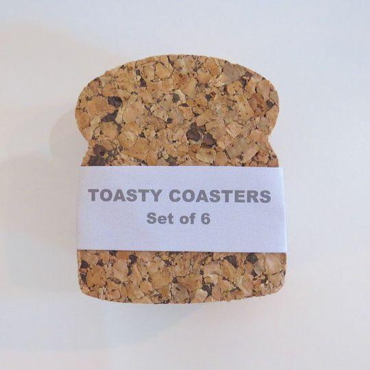 Toasty Cork Coasters