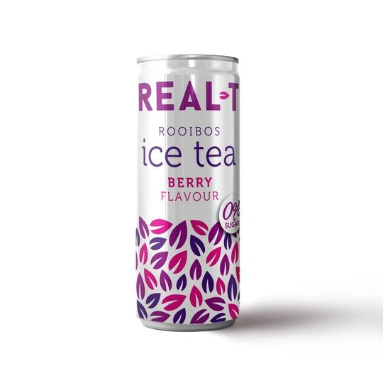 Real - T Premium Rooibos Ice Tea- Berry