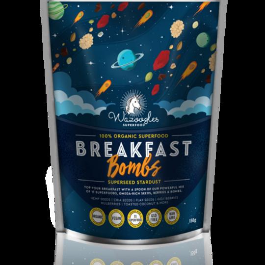 Wazoogles Superfood Breakfast Bombs - Superseed Stardust