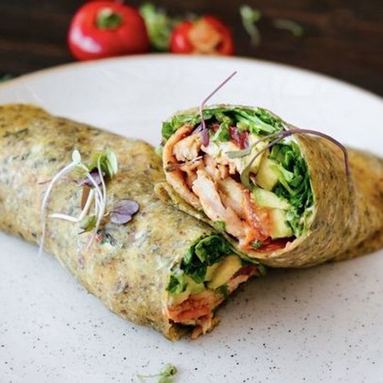 Chicken and Avo Wrap