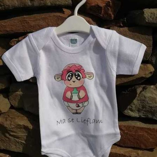 BABY Vest- Ma se Lieflam