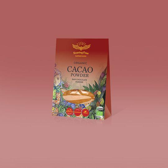 SOARING FREE SUPERFOODS Organic Raw Cacao Powder - 200g