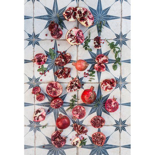 Tablecloth - Turkish Pomegranates and Mint