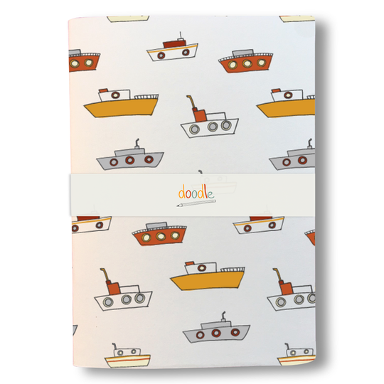 Fishing boats notebook