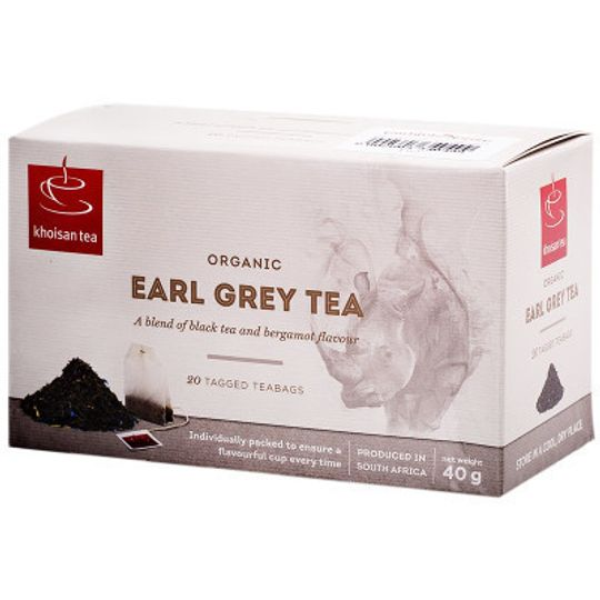 Khoisan Tea Org Earl Grey