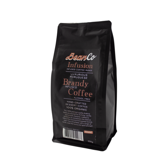 BeanCo Brandy Infused Coffee Ground (250g)