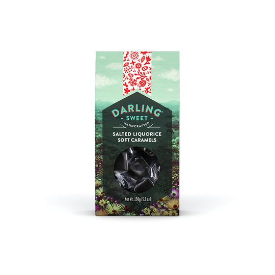 Darling Sweet salted Liquorice Soft Caramels
