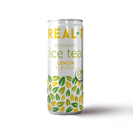 Real - T Premium Rooibos Ice Tea - Lemon