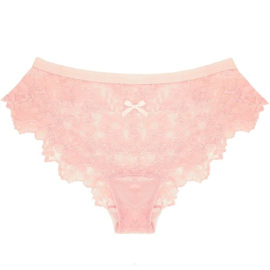 Lace Panty in Autumn Blush
