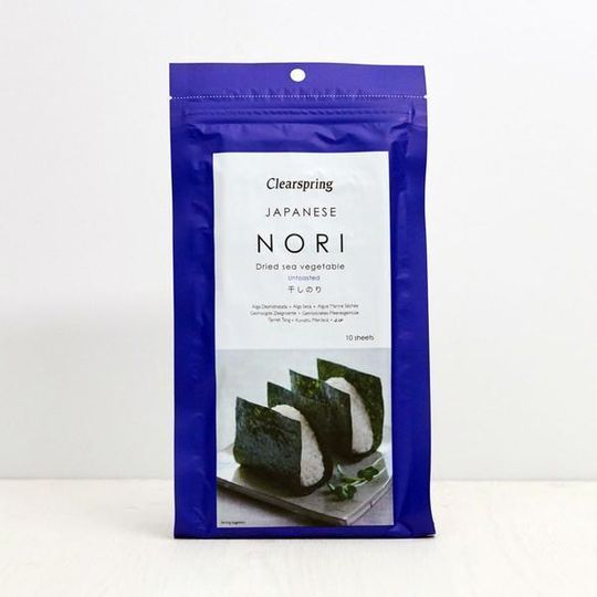 Clearspring Japanese Untoasted Nori 25g