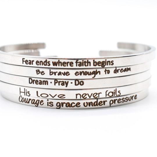 Silver Stainless Steel Bracelet