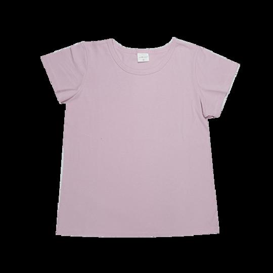 Ladies Short Sleeve - Round Neck Pink