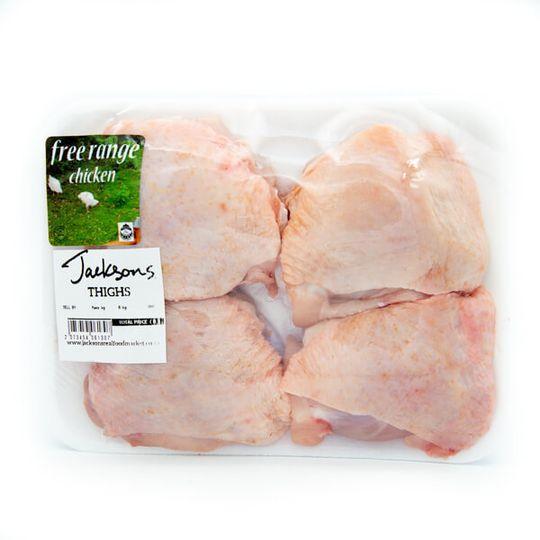 Free ~Range chicken Thighs (+-640g)