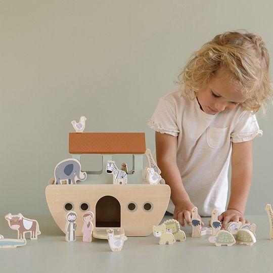 Little Dutch Wooden Noah's Ark
