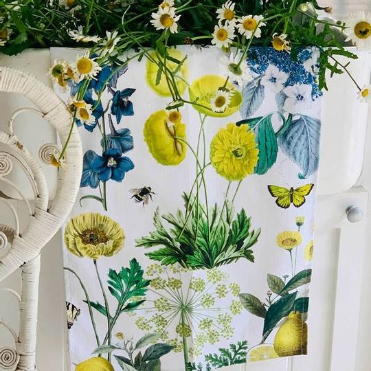Tea Towel - Springtime Blue