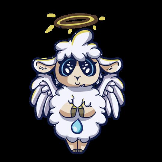 ADULTS Angel Shirt (Longsleeve)