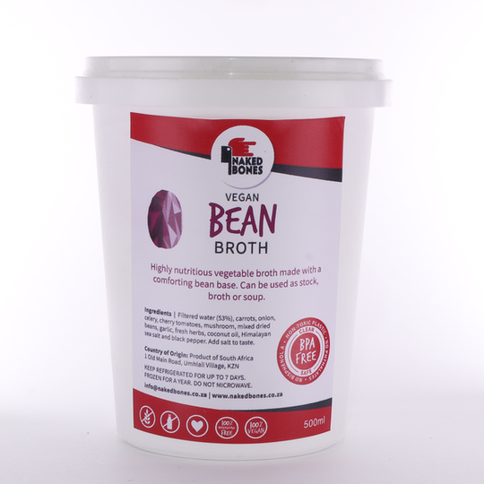 Vegan Bean Broth (500ml)