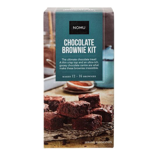 NOMU Chocolate Brownie Baking Kit