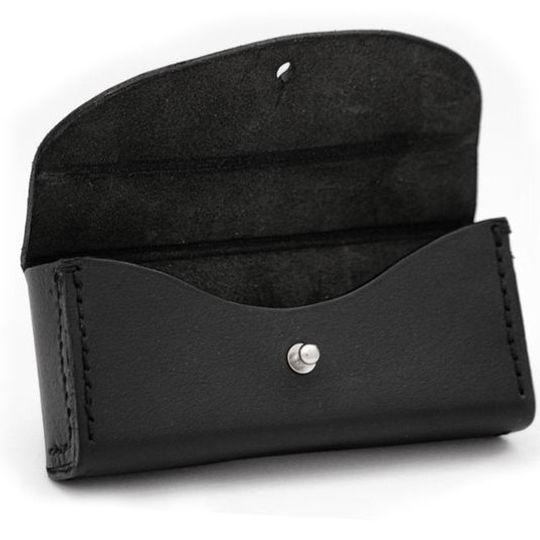 Trailblazer (Black) - Leather Glasses Case