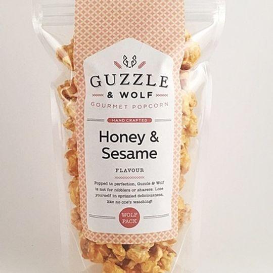 Guzzle & Wolf Honey and Sesame Popcorn